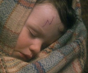 harry potter, baby, and scar image