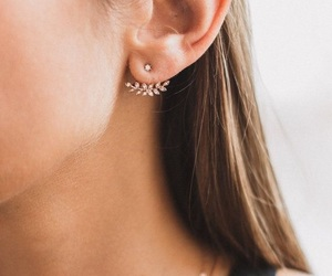 ear, style, and earring image