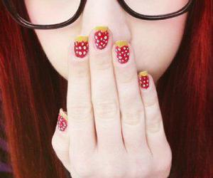 nails and red hair image