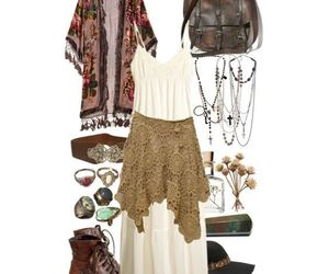 boho, clothes, and fashion image