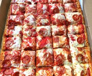 pizza, yummy, and delicious image