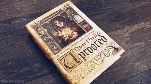 books, fantasy, and uprooted image