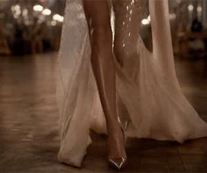 gif, dress, and legs image