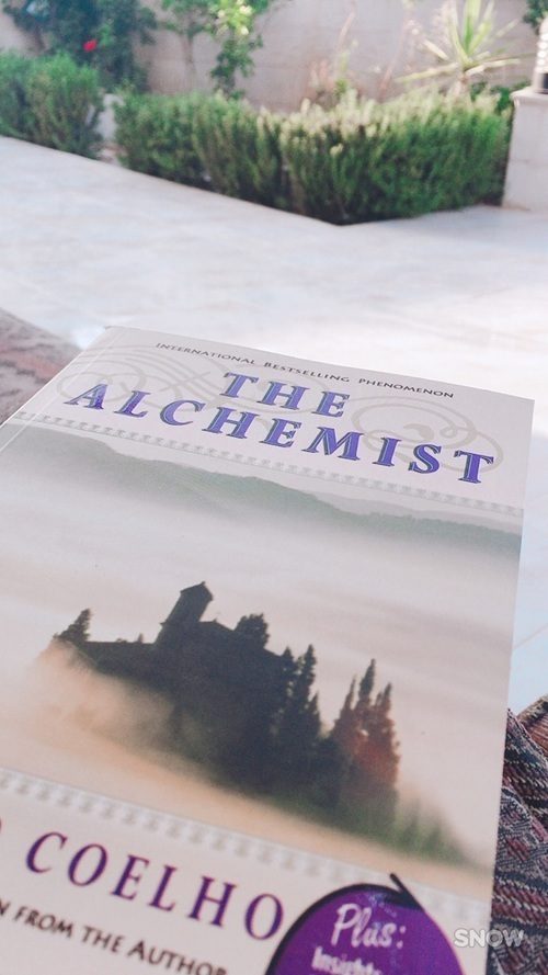 article, books, and the alchemist image