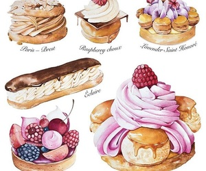 drawing and pastry image