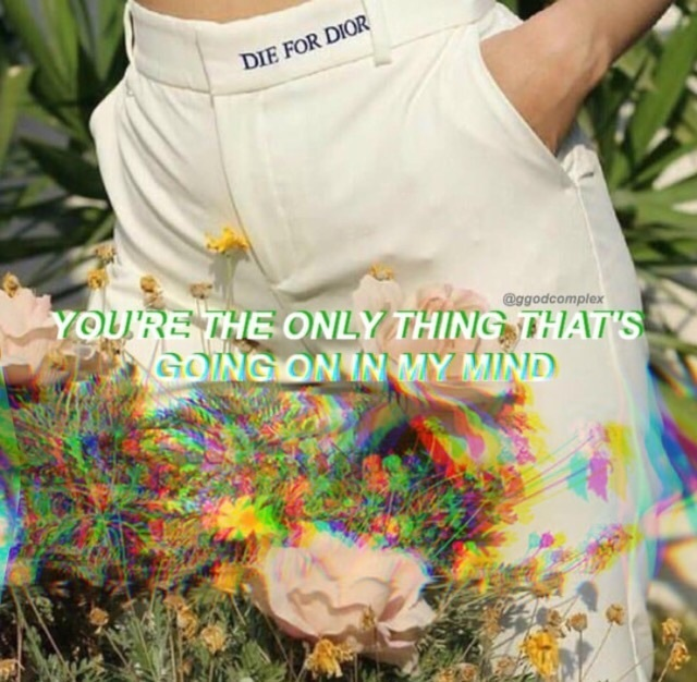 aesthetic, glitch, and quote image