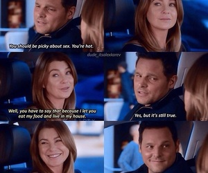 friendship, lol, and meredith grey image