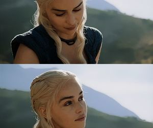 hair, got, and daenerys image