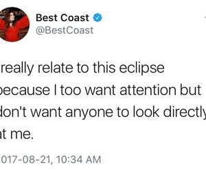 attention and eclipse image