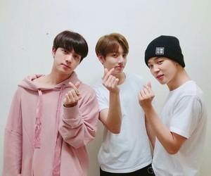 bangtan boys, jimin, and jungkook image