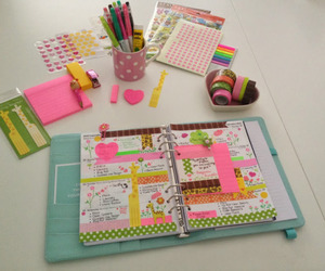 notebook, back to school, and school image