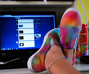 shoes, tumblr, and vans image
