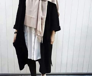 hijab, style, and outfit image