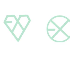 exo, Logo, and exo edits image