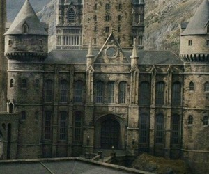 hogwarts, harry potter, and harry image