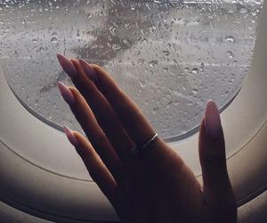 nails, rain, and travel image