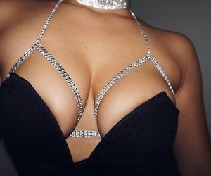 beauty, sparkle, and boobs image