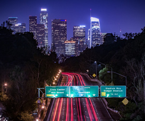 Angeles, california, and cars image