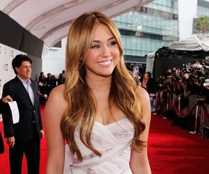 miley cyrus, dress, and gorgeous image