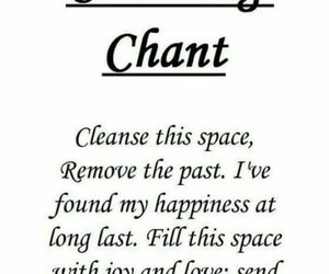 chant, cleanse, and love image