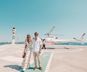 blue sky, janni deler, and couple image