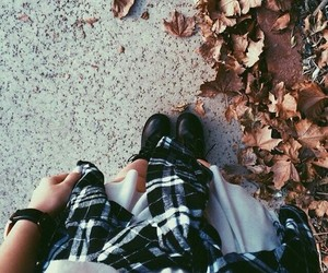 autumn, boots, and fashion image