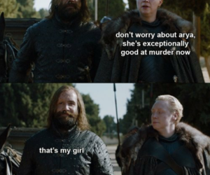 game of thrones, funny, and the hound image