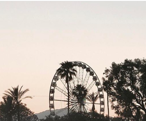 coachella, fun fair, and sky image