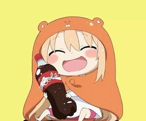 himouto! umaru-chan, anime, and cola image