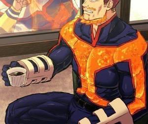 boku no hero academia, anime, and endeavour image