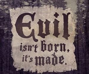 born, disney, and evil image