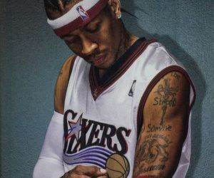 allen iverson, Basketball, and NBA image