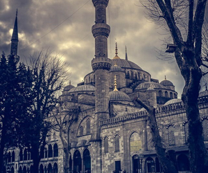 mosque, turkey, and istanbul image