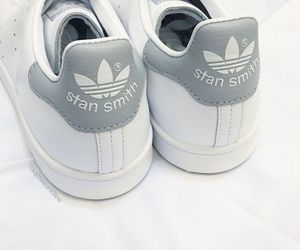 adidas, stan smith, and white image