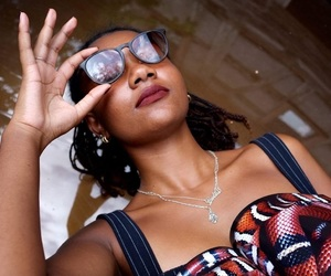 black girl, cool, and fashion photography image