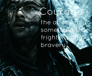 courage, determination, and edit image