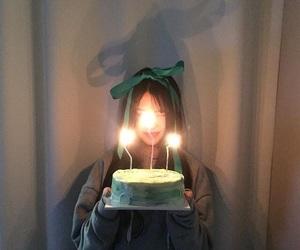asian, birthday, and cake image
