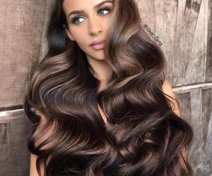 hair, beauty, and pretty image