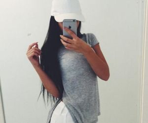 fashion, mode, and selfie image
