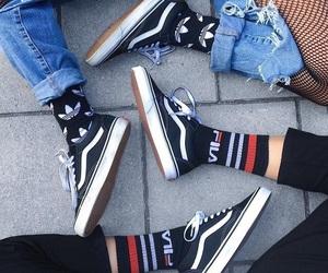 vans, Fila, and adidas image