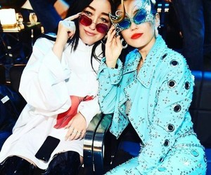 miley cyrus, noah cyrus, and vmas image