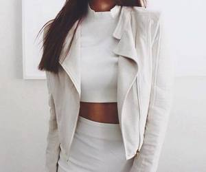 white, fashion, and sexy image