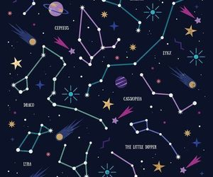 stars, wallpaper, and constellation image