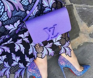 purple, fashion, and shoes image