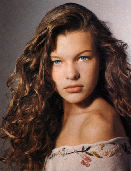 Will know, Milla jovovich when she was young amusing message