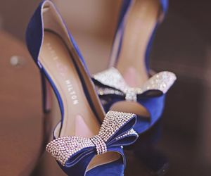 blue, shoes, and stylé image