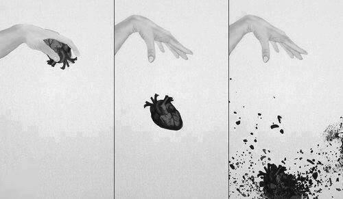 heart and broken image