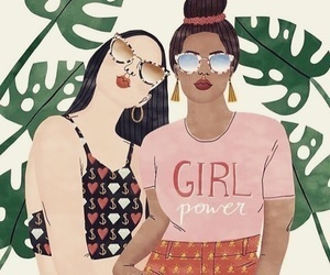 article, feminism, and strong women image