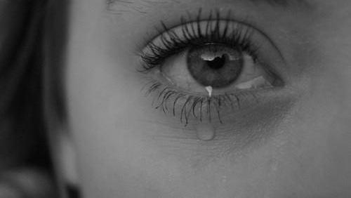 eye and sad image