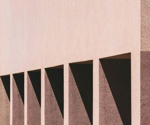 architecture, abstract structures, and rose-gold image
